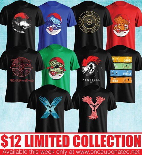 Pokémon for sale t shirts once upon a tee - 8025002496