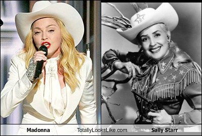 Madonna Totally Looks Like Sally Starr