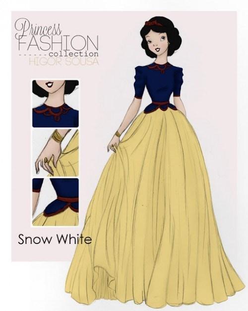 Clothing - Pnces FASHION collection HIGOR SOUSA Snow White