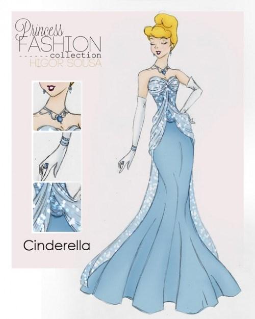 Clothing - Pnces FASHION collection HIGOR SOUSA Cinderella