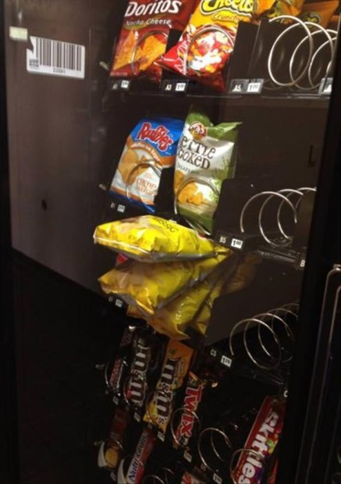 vending machines,FAIL,work