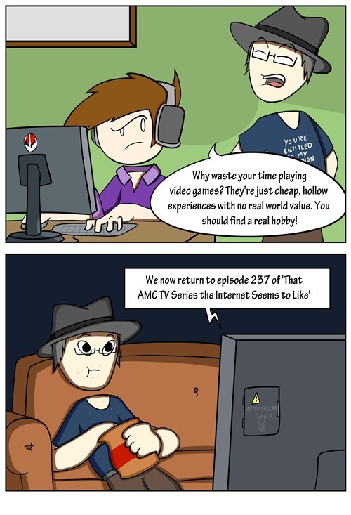 gamers double standards web comics