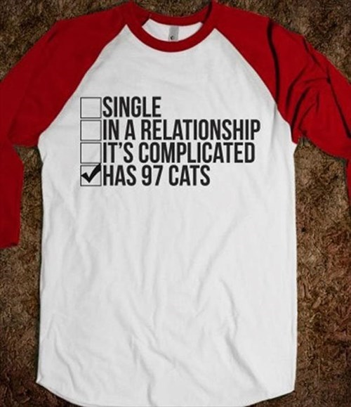 Cats t shirts poorly dressed relationships g rated - 8025120512