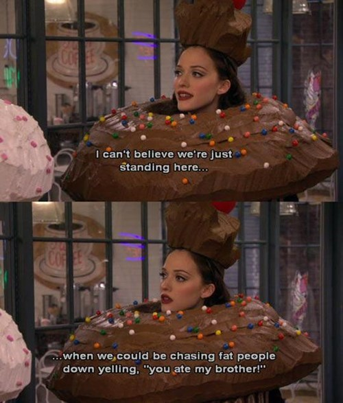 costume,cupcake,halloween,Two Broke Girls