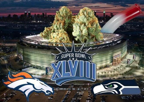 Denver Broncos football nfl seattle seahawks super bowl potbowl - 8025226496