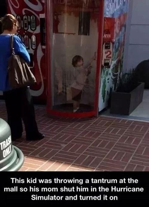parenting hurricane simulator