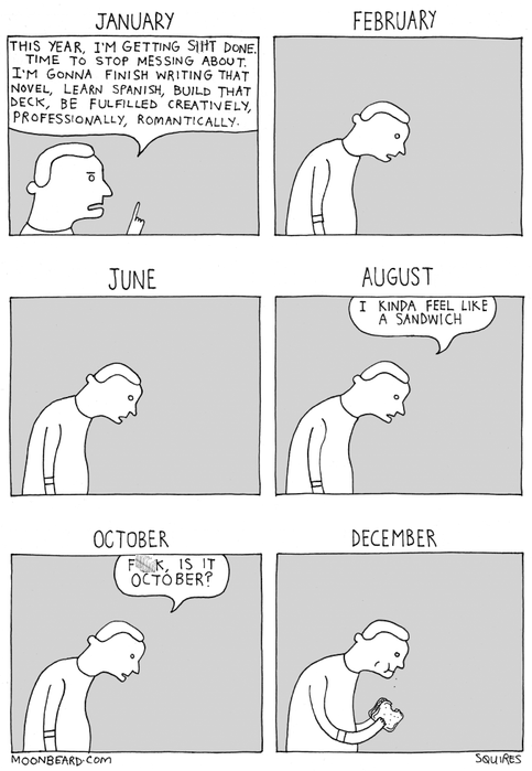 new years,resolutions,web comics