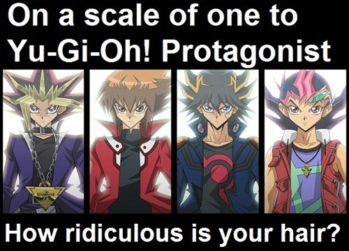 anime hair anime Yu Gi Oh - 8025309952