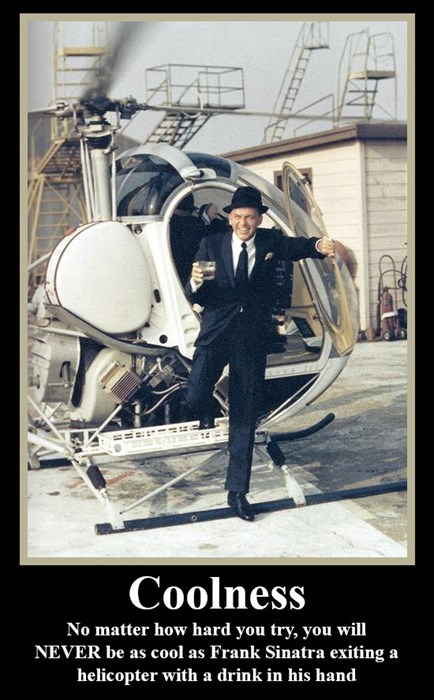 awesome,drink,frank sinatra,cool,helicopter