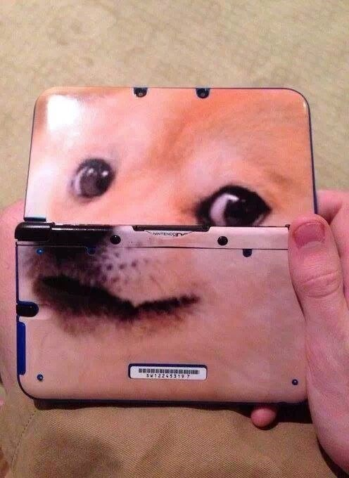 3DS nintendo Memes doge - 8025345280