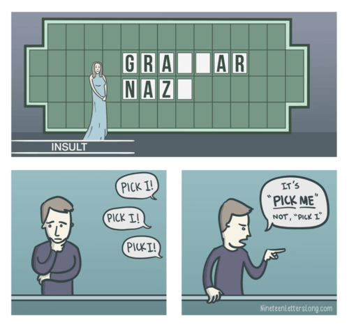 grammar,wheel of fortune,web comics