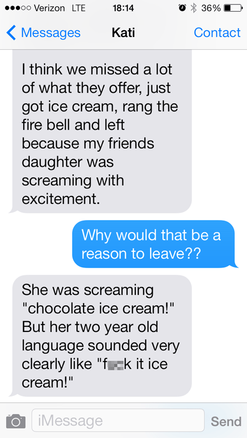 kids text ice cream parenting - 8025529600