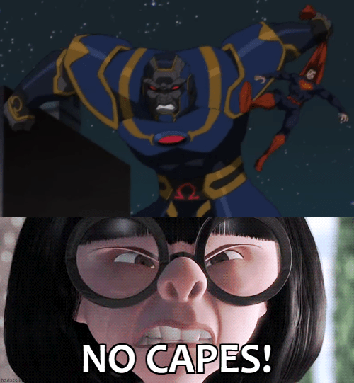 no capes,the incredibles,superman