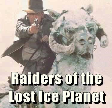 Raiders of the Lost Ice Planet