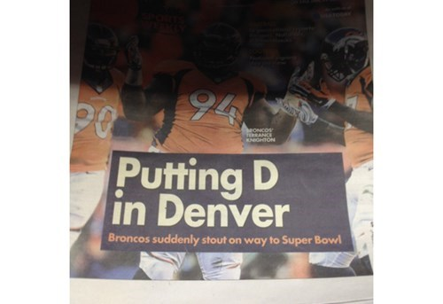 sports the Big Game THE D football - 8025964288