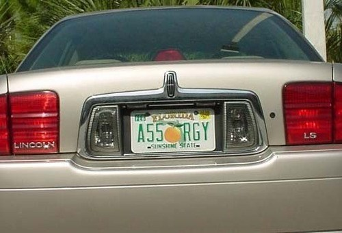 wtf car butt stuff sexy times license plate funny dating - 8026182656