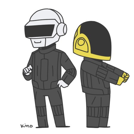 Daft Punk After The Grammy's