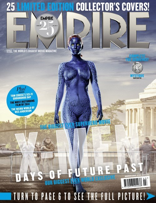 covers,days of future past,empire magazine,xmen