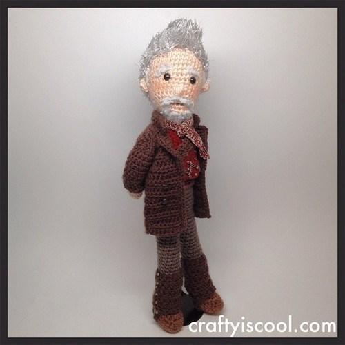 crochet john hurt Amigurumi the warriot - 8026433536