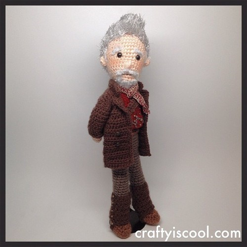 crochet john hurt Amigurumi the warriot - 8026433536