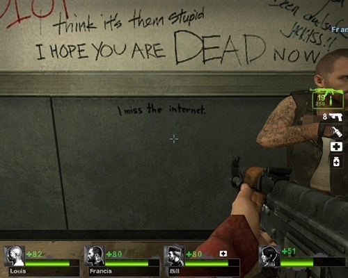 Left 4 Dead the internets