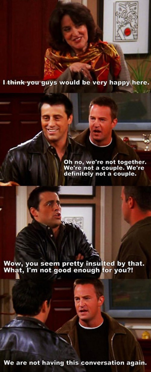 Chandler,friends,Joey,moving,roommates,funny