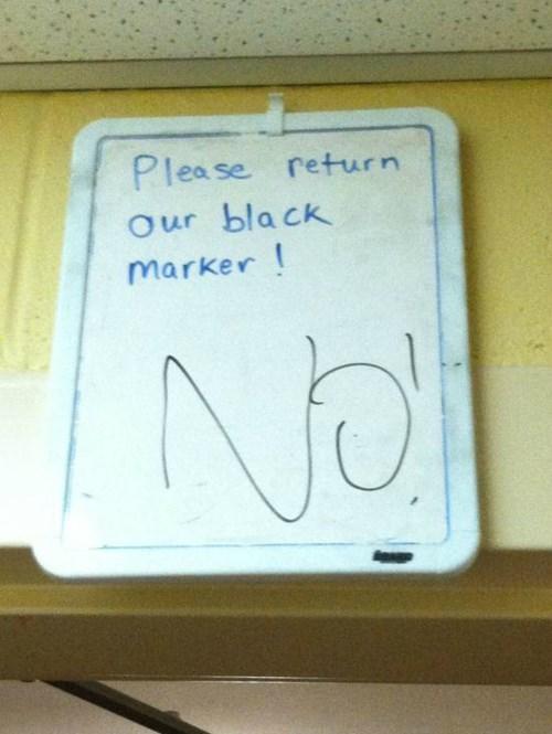 school,markers