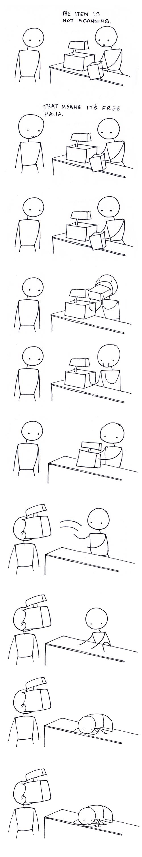 retail sad but true web comics