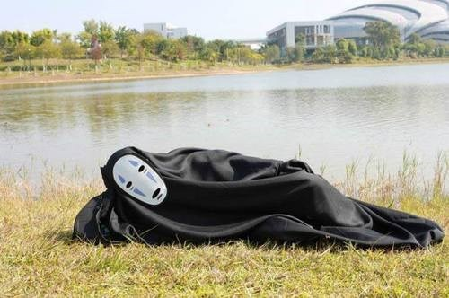 no face,cosplay,anime,studio ghibli