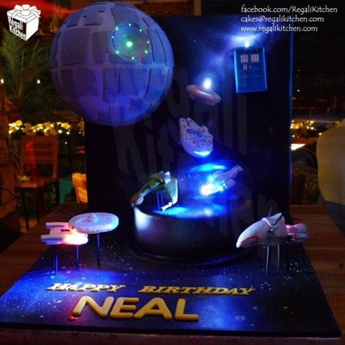 cake star wars Star Trek neredgasm - 8026806784