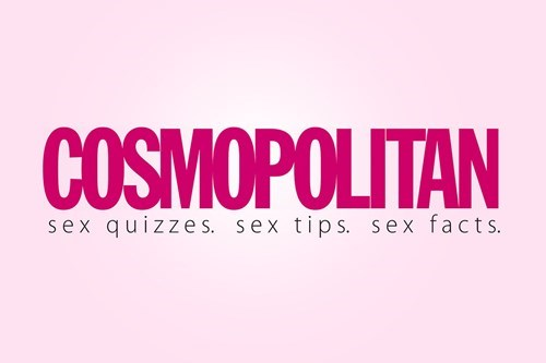 Text - COSMOPOLITAN sex quizze s. sex tips. sex facts.