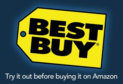 Text - BES BUY Try it out before buying it on Amazon