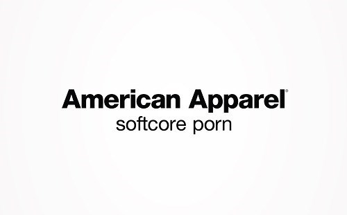Text - American Apparel softcore porn