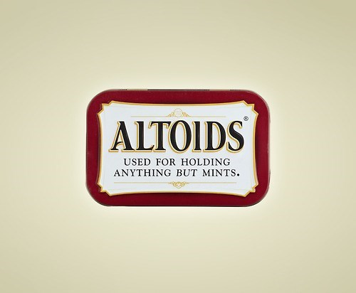 Logo - ALTOIDS USED FOR HOLDING ANYTHING BUT MINTS