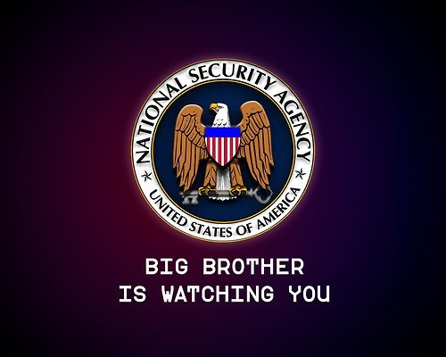 Logo - SECURITY UNITED STATES OF AMERICA BIG BROTHER IS WATCHING YOU AGENCY