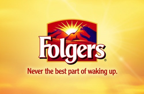Text - Folgers Never the best part of waking up.