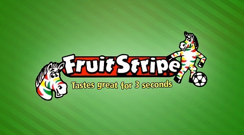 Cartoon - fruit Stripe Tastes great for 3 seconds