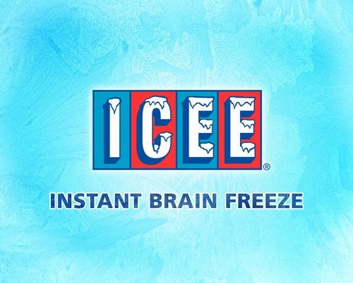 Text - ICEE INSTANT BRAIN FREEZE