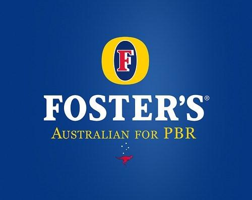 Logo - F FOSTER'S AUSTRALIAN FOR PBR