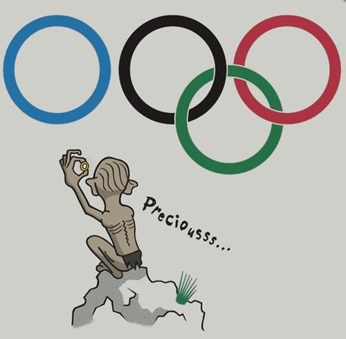 gollum Sochi 2014 olympics - 8026972416
