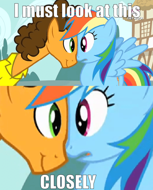 Weird Al Yankovic my bubble rainbow dash - 8027707392