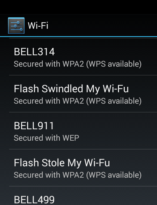 flash sentry wi-fi waifu puns