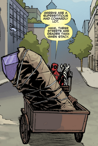 Insensitive Deadpool