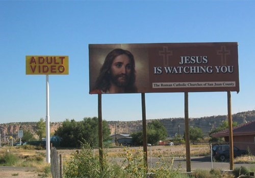 billboards,jesus