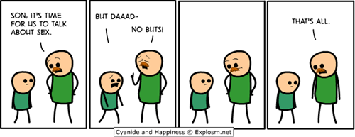 dads,the birds and bees,mustaches,web comics