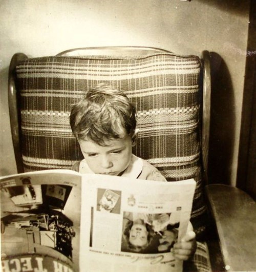 reading kids parenting magazines vintage