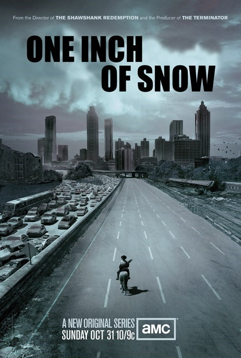 snow,the south,weather,The Walking Dead