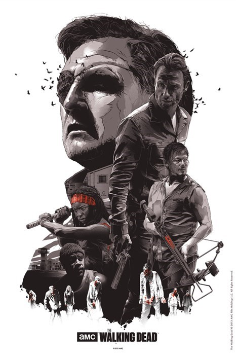 art posters The Walking Dead - 8028615424