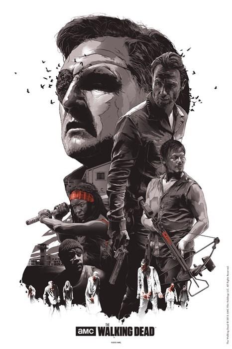 art posters The Walking Dead - 8028615424