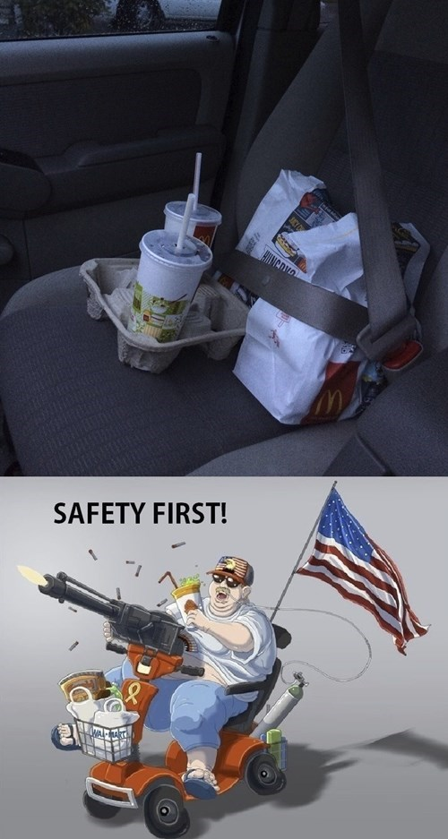 McDonald's,safety first